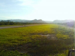 Paved airstrip built to US FAA specs