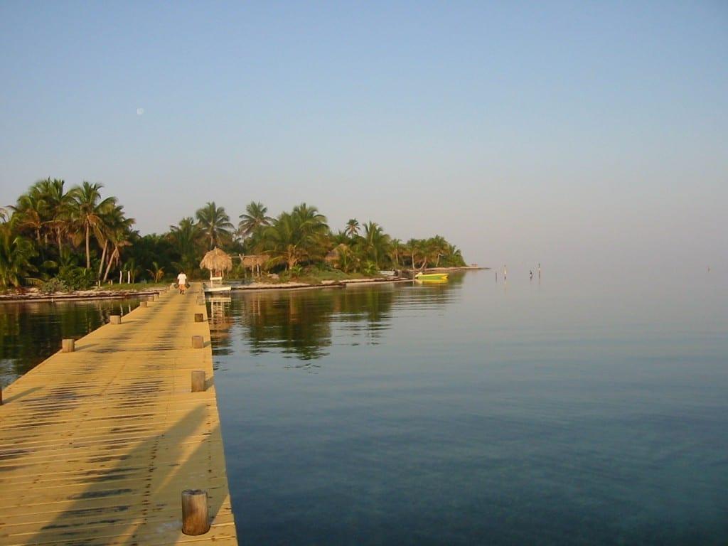 Long Caye Dock