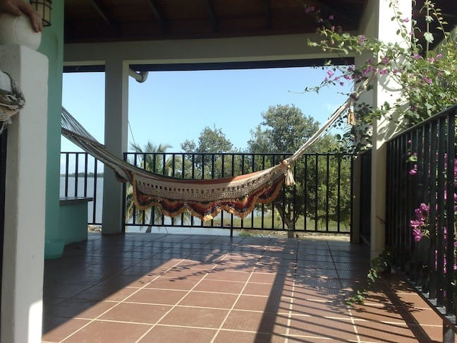 Hammock on the veranda