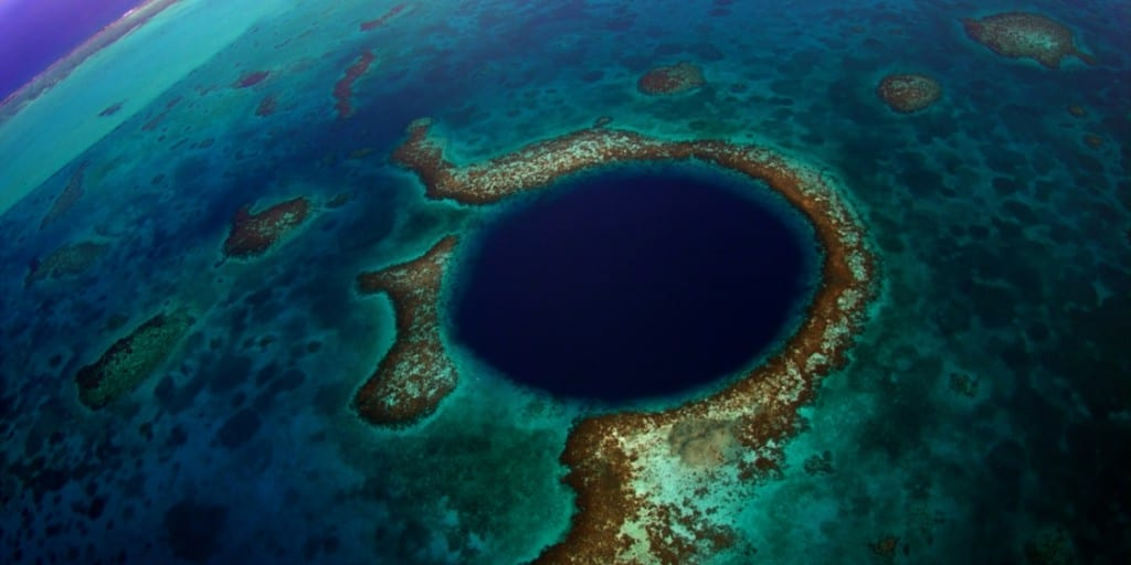 Blue Hole Dive Site