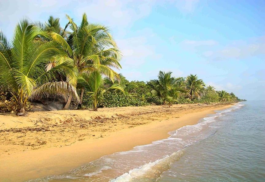 Wide open beach