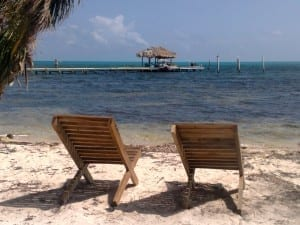 Long Caye Beach