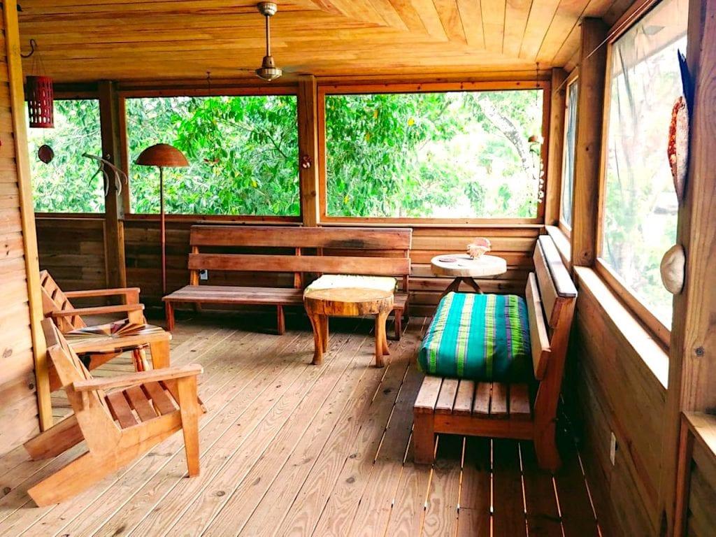 Living veranda